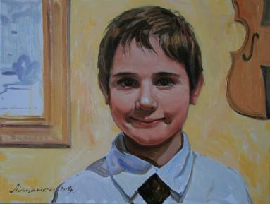 Order portrait of Kiev, Oleg Mishchenko artist