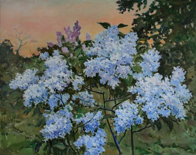 Lilac 70х95 p.o. 2016