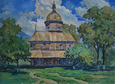 Cerkva v Drabivtsiah50x70k.o.2012