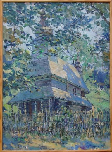 Cerkva v gukluvjmu40x55p.o.1997