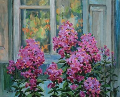 buy paintings, flowers, artist Oleg Mishchenko