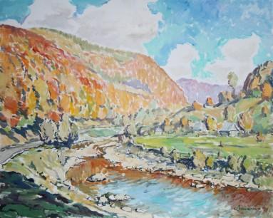 River Tereblia40x50k.o.2008