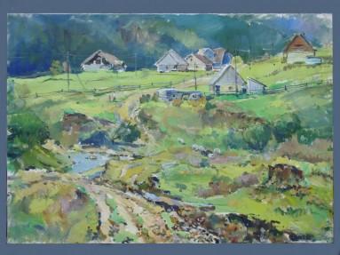 Village 40x55p.o.1999