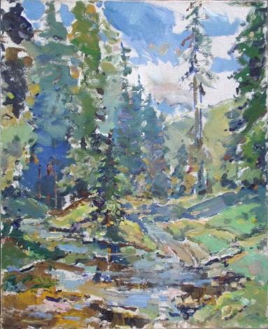 Creek 50x45p.o.1999