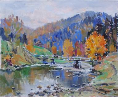 Vorokhta autumn 50x60p.o.2004