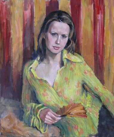 Zhinochij portret60x50p.o.2004