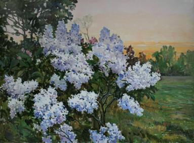 Lilac 75х95 p.o. 2016