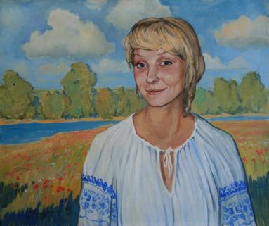portret zhinochij50x60p.o.2009
